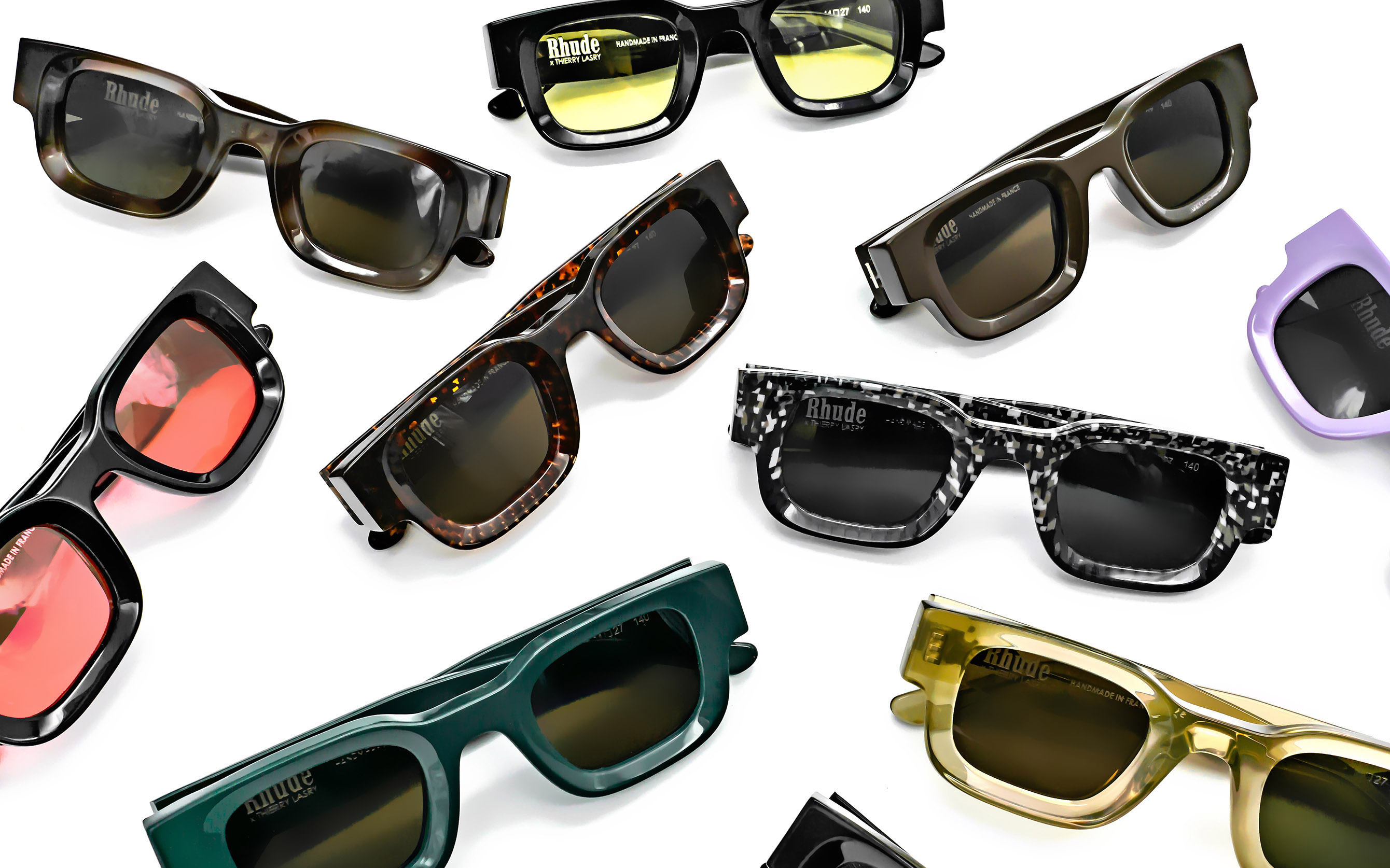 Collection Rhude X Thierry Lasry