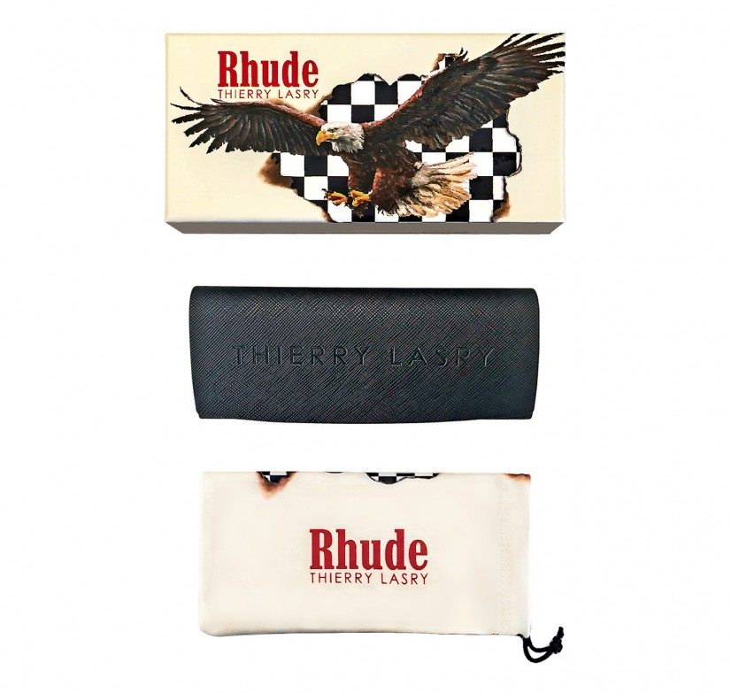 "RHUDE x THIERRY LASRY ""RHODEO"" PACKAGING"
