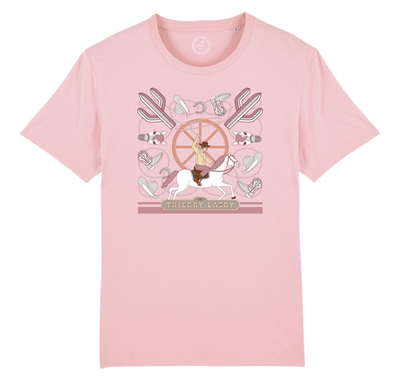 THIERRY LASRY COWBOY T-SHIRT - PINK