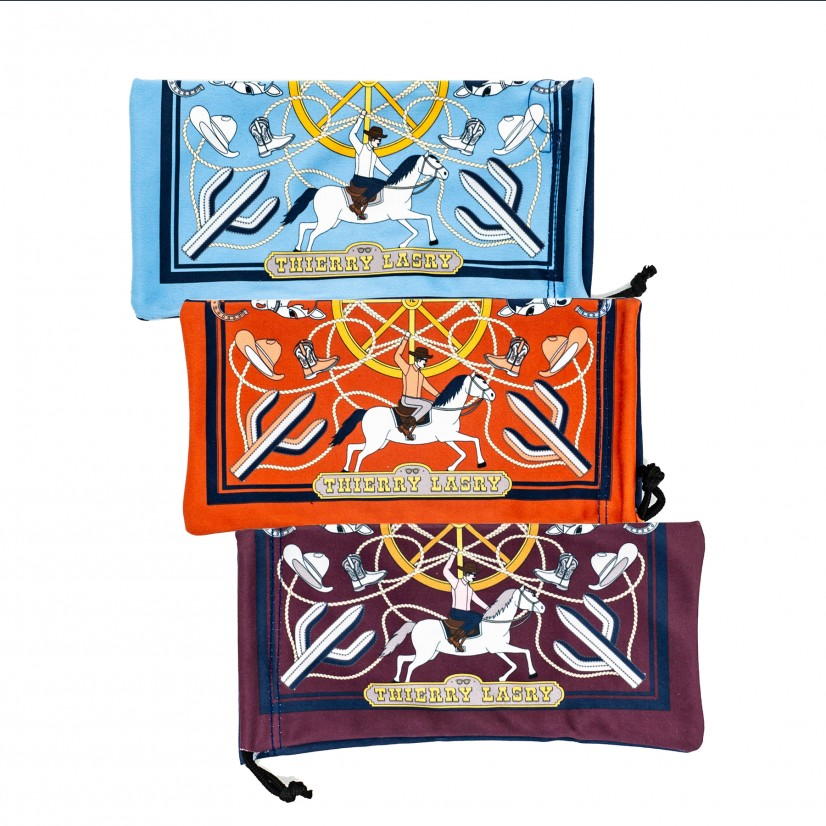 THIERRY LASRY OPTICAL POUCHES DESIGN