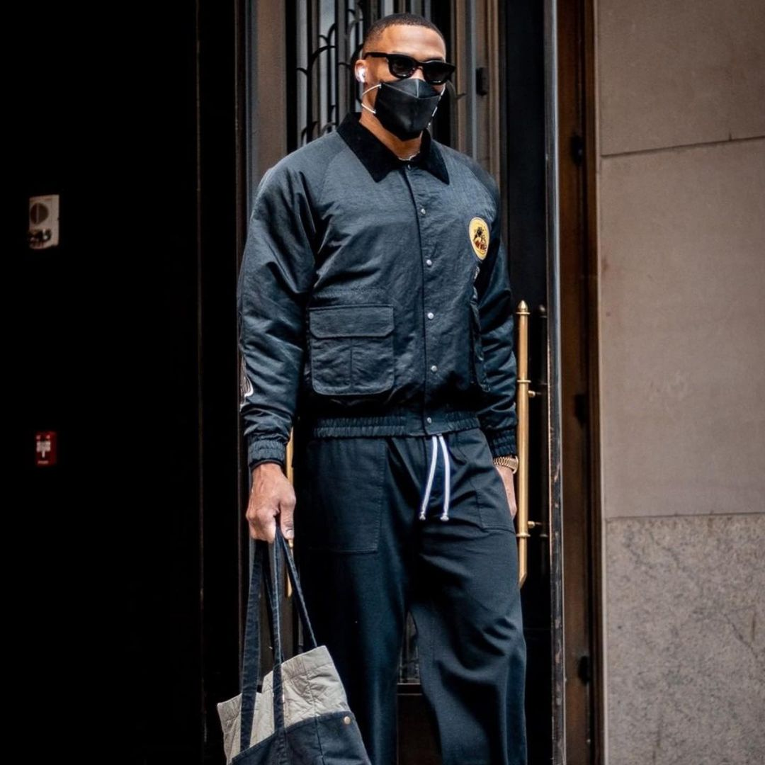 """Russell Westbrook from the Washington Wizards sporting RHUDE x THIERRY LASRY """"RHODEO"""""""