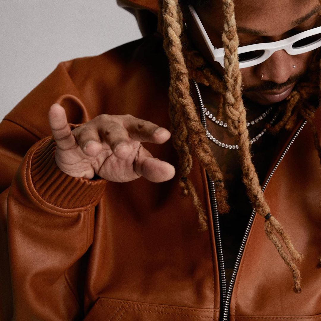 """FUTURE wearing the RHUDE x THIERRY LASRY """"RHODEO"""""""