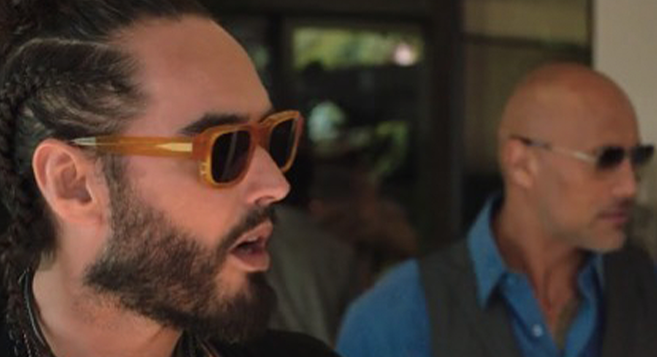 "RUSSEL BRAND WEARING THE ENFANTS RICHES DÉPRIMÉS X THIERRY LASRY ""THE ISOLAR"""