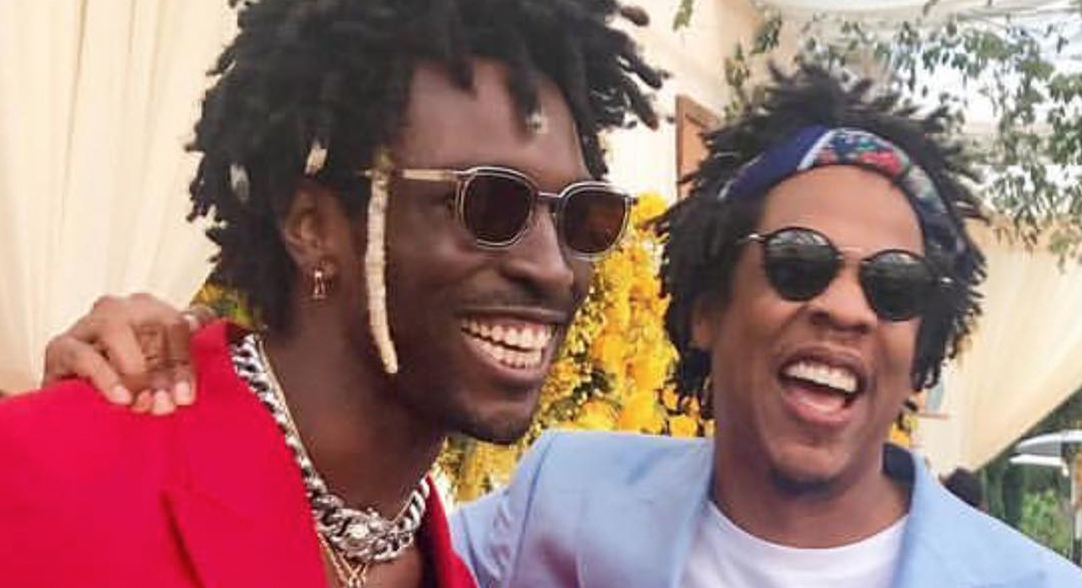 "SAINT JHN WEARING THE THIERRY LASRY SUNGLASSES ""VIGILANTY"""