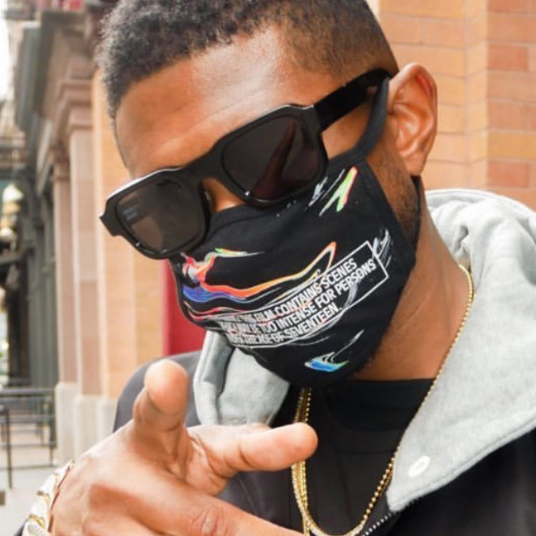 "USHER WEARING THE ENFANTS RICHES DÉPRIMÉS X THIERRY LASRY ""THE ISOLAR"""