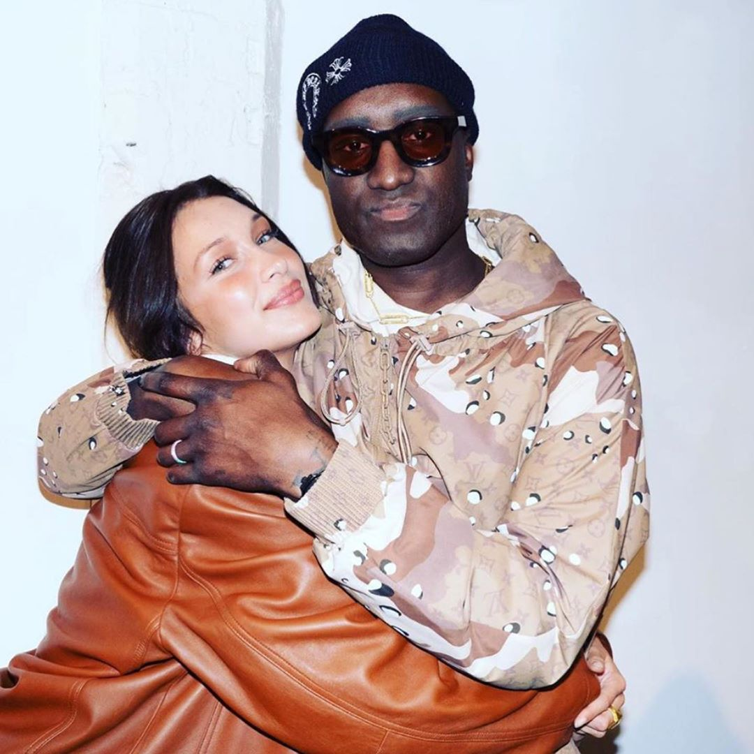 """Virgil Abloh wearing the RHUDE x THIERRY LASRY """"RHODEO"""""""