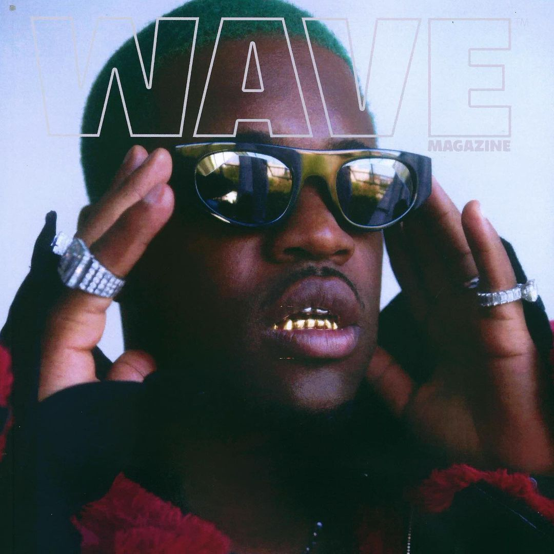 A$AP Ferg wearing THIERRY LASRY featured in WAVE Magazine