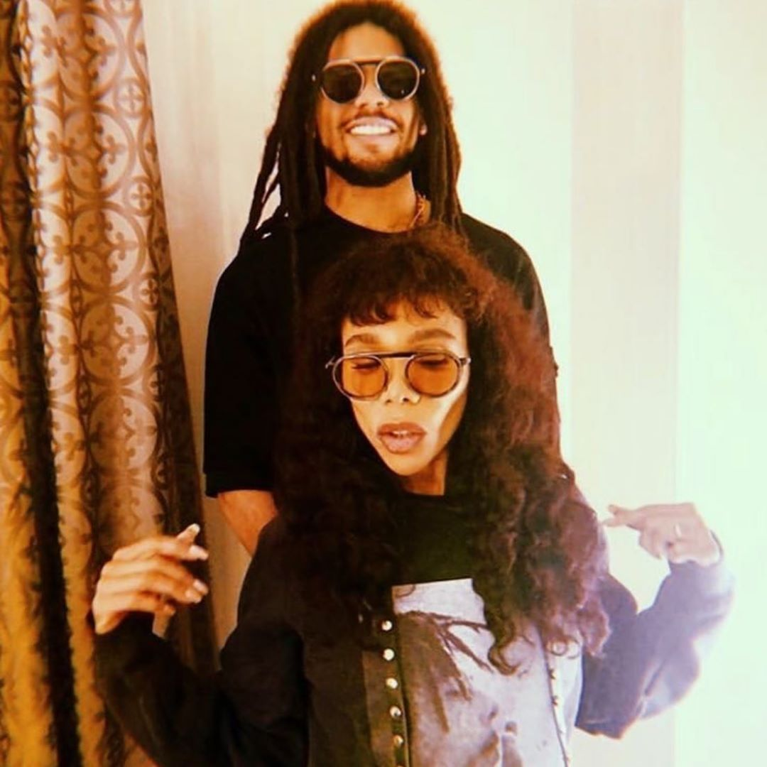"Skip Marley & Cedella Marley wearing the THIERRY LASRY ""GHOSTY"""