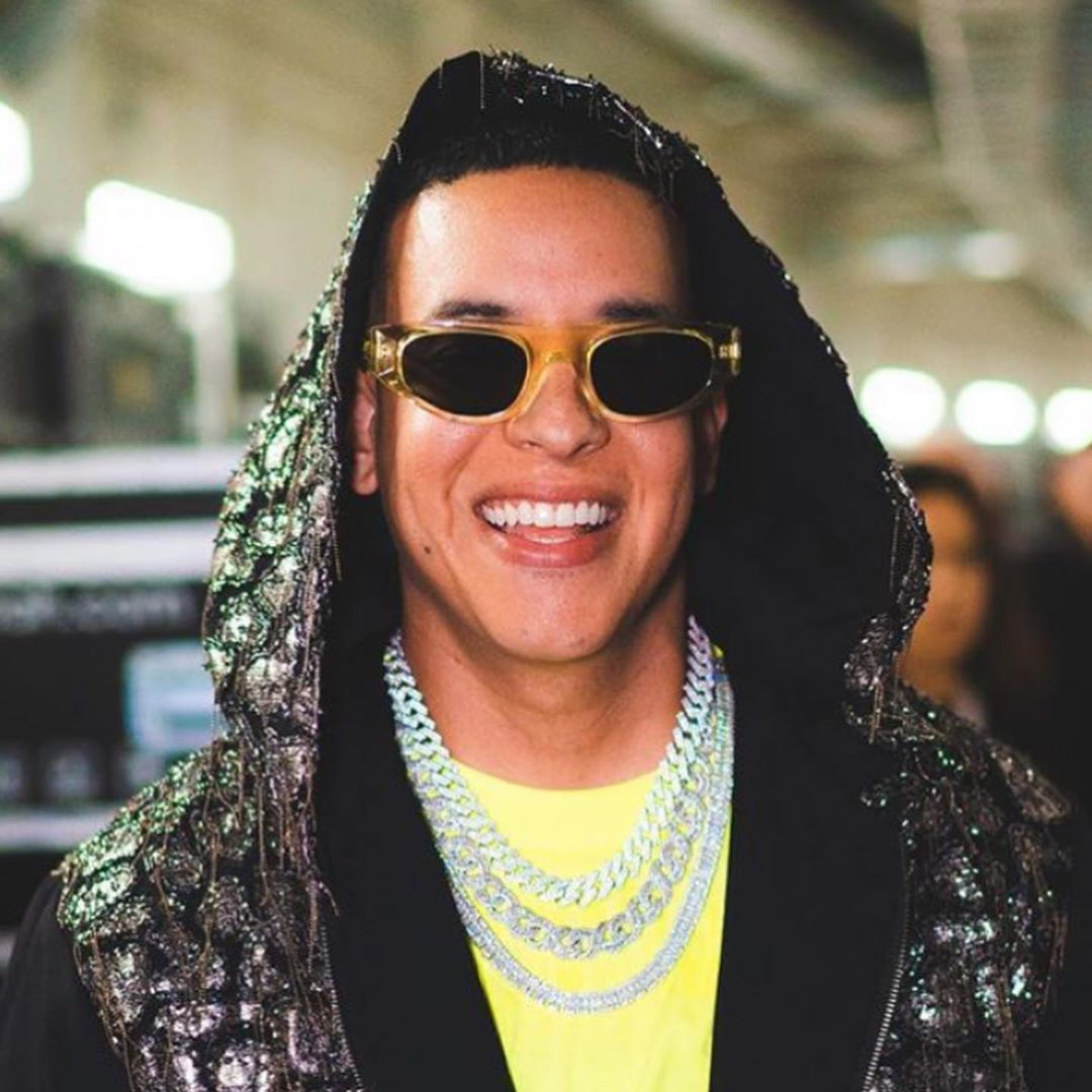 "DADDY YANKEE wearing the KOCHÉ x THIERRY LASRY ""COBALT"""