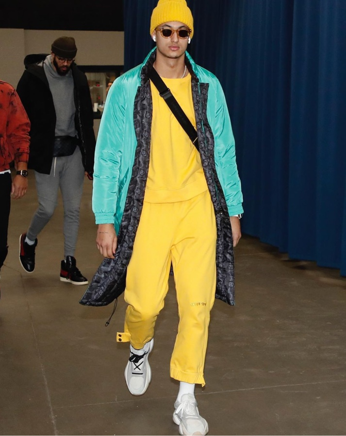 "KYLE KUZMA WEARING THE THIERRY LASRY ""RHODEO"""
