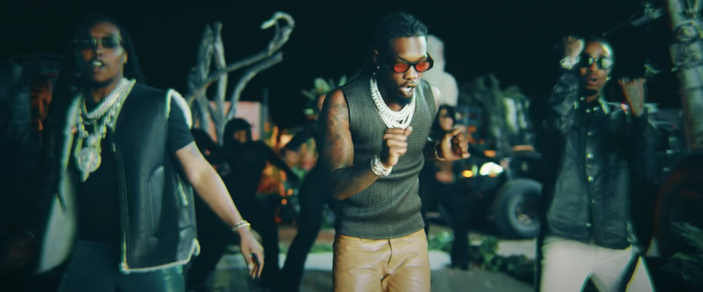 """MIGOS wearing the THIERRY LASRY sunglasses """"MASTERMINDY"""""""