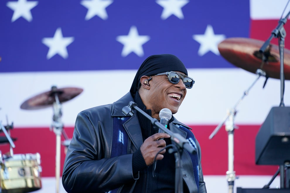 "STEVIE WONDER wearing the THIERRY LASRY ""ROBBERY"" sunglasses"