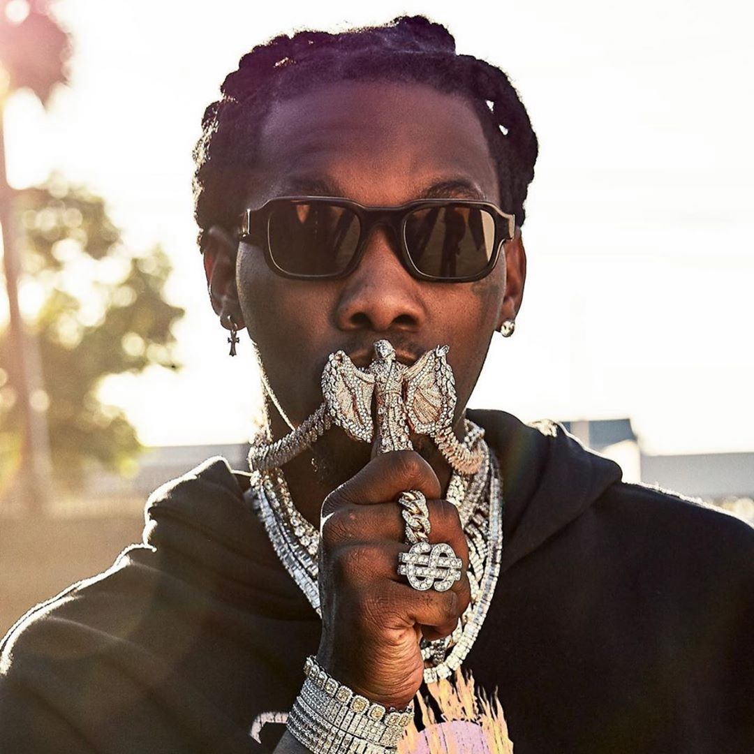 "OFFSET WEARING THE ENFANTS RICHES DÉPRIMÉS X THIERRY LASRY ""ISOLAR 2"""