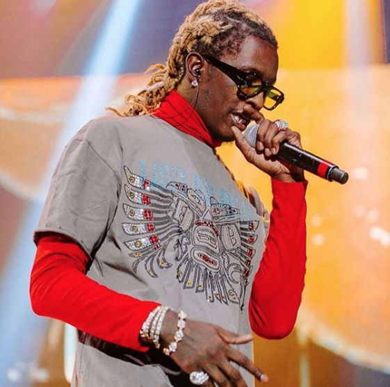 "YOUNG THUG WEARING THE ENFANTS RICHES DÉPRIMÉS X THIERRY LASRY ""THE ISOLAR"""