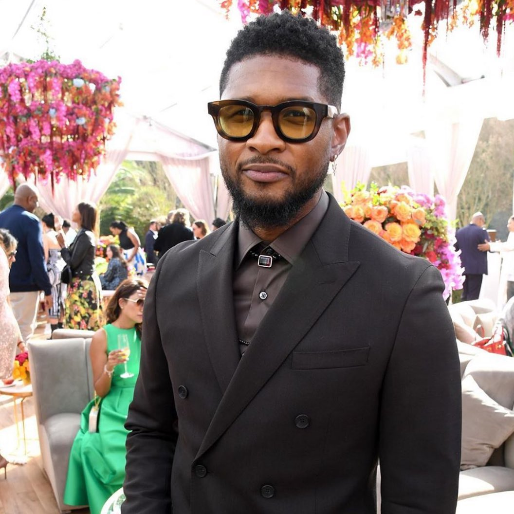 "USHER WEARING THE THIERRY LASRY ""DARKSIDY"""