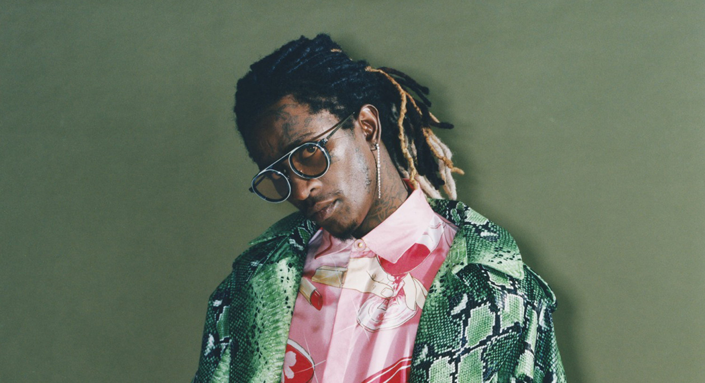 "YOUNG THUG WEARING THE THIERRY LASRY ""GHOSTY"""